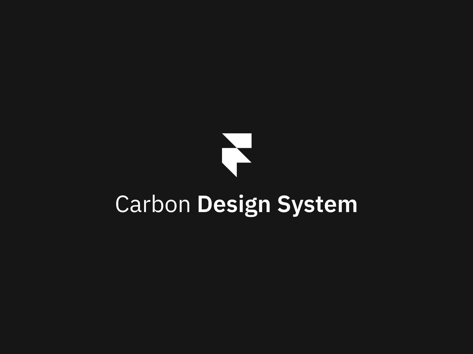 Carbon Design System