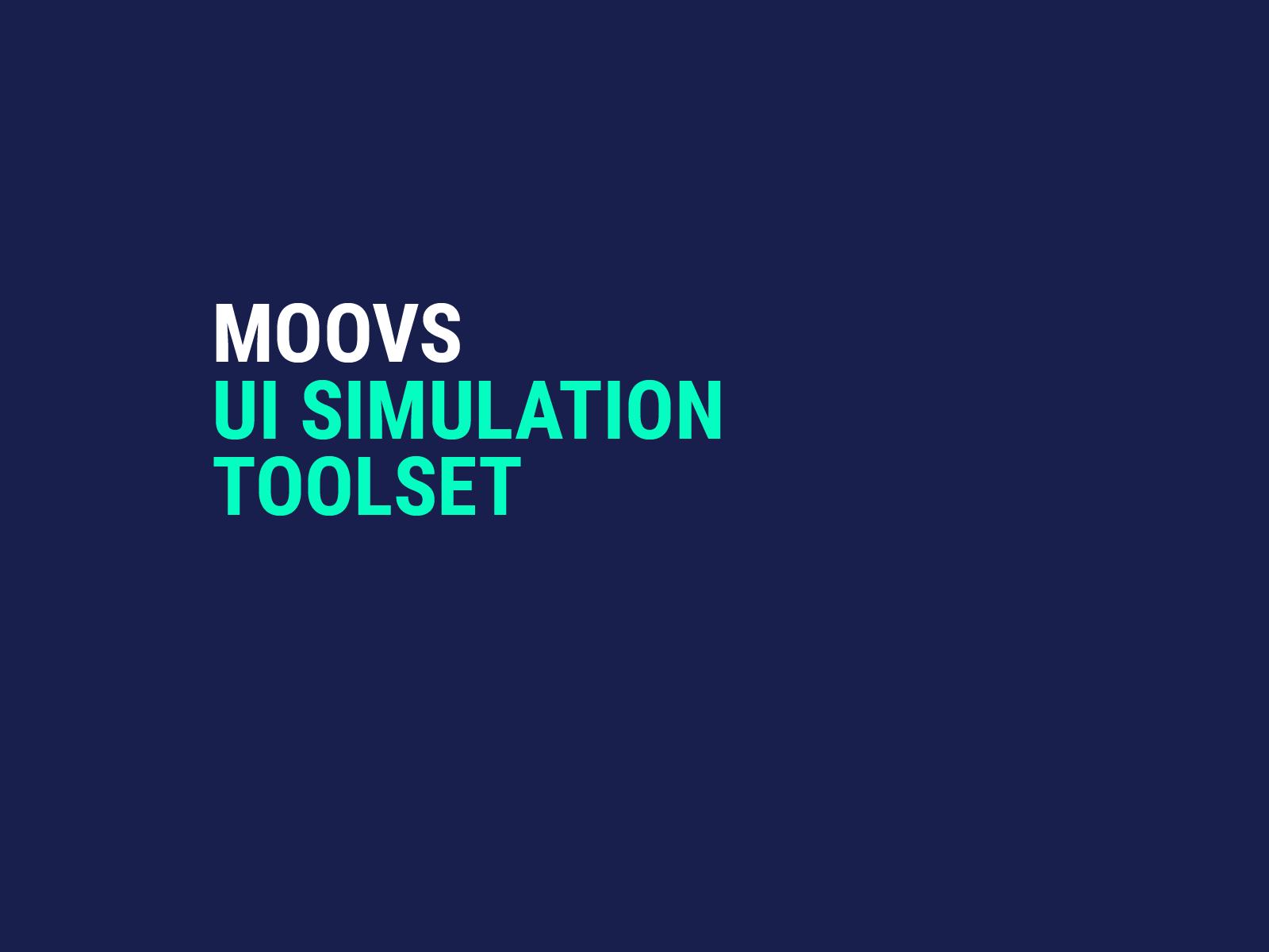 Moovs UI tools