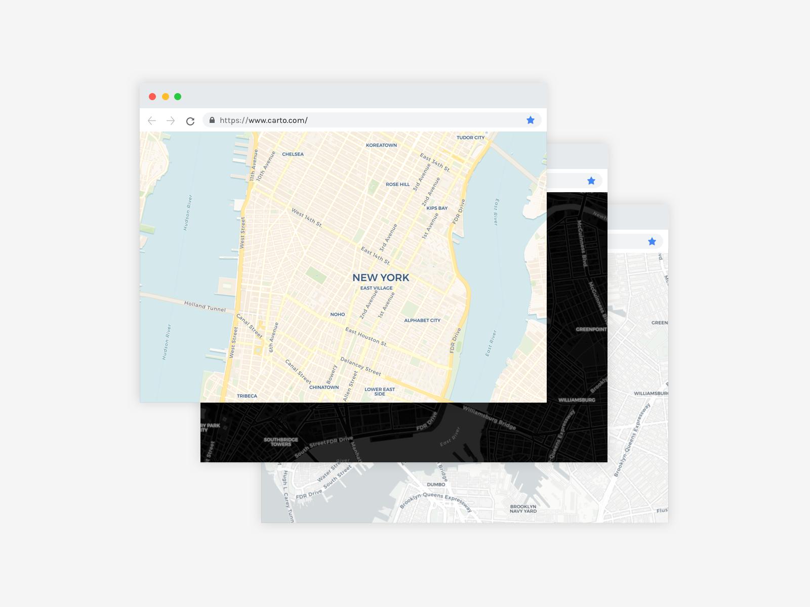 CARTO maps