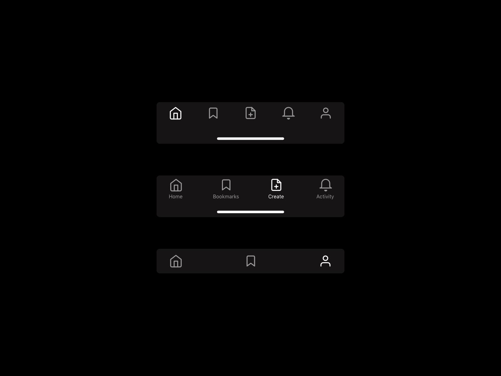 iOS Tab Bar
