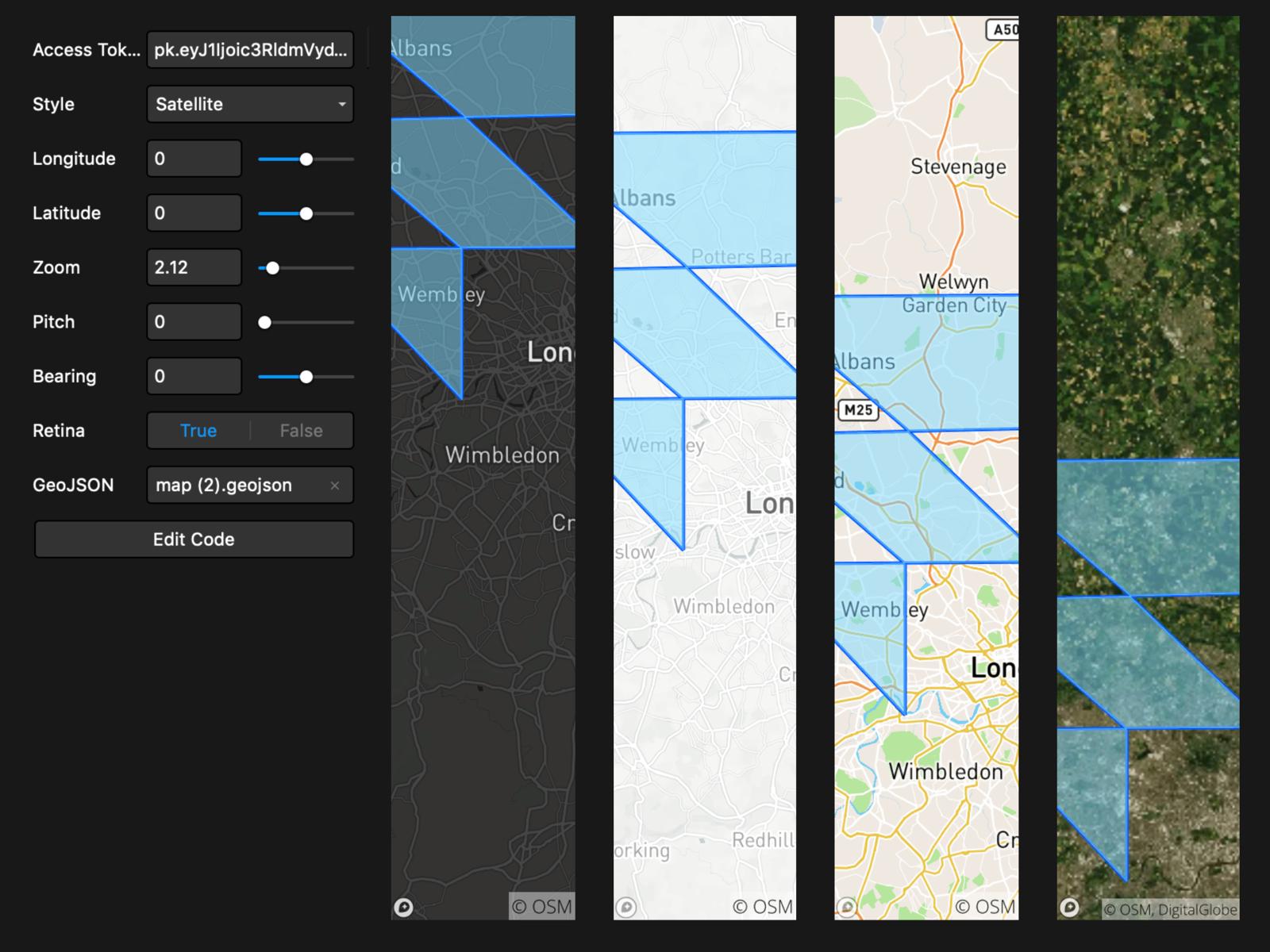 Mapbox Static Map