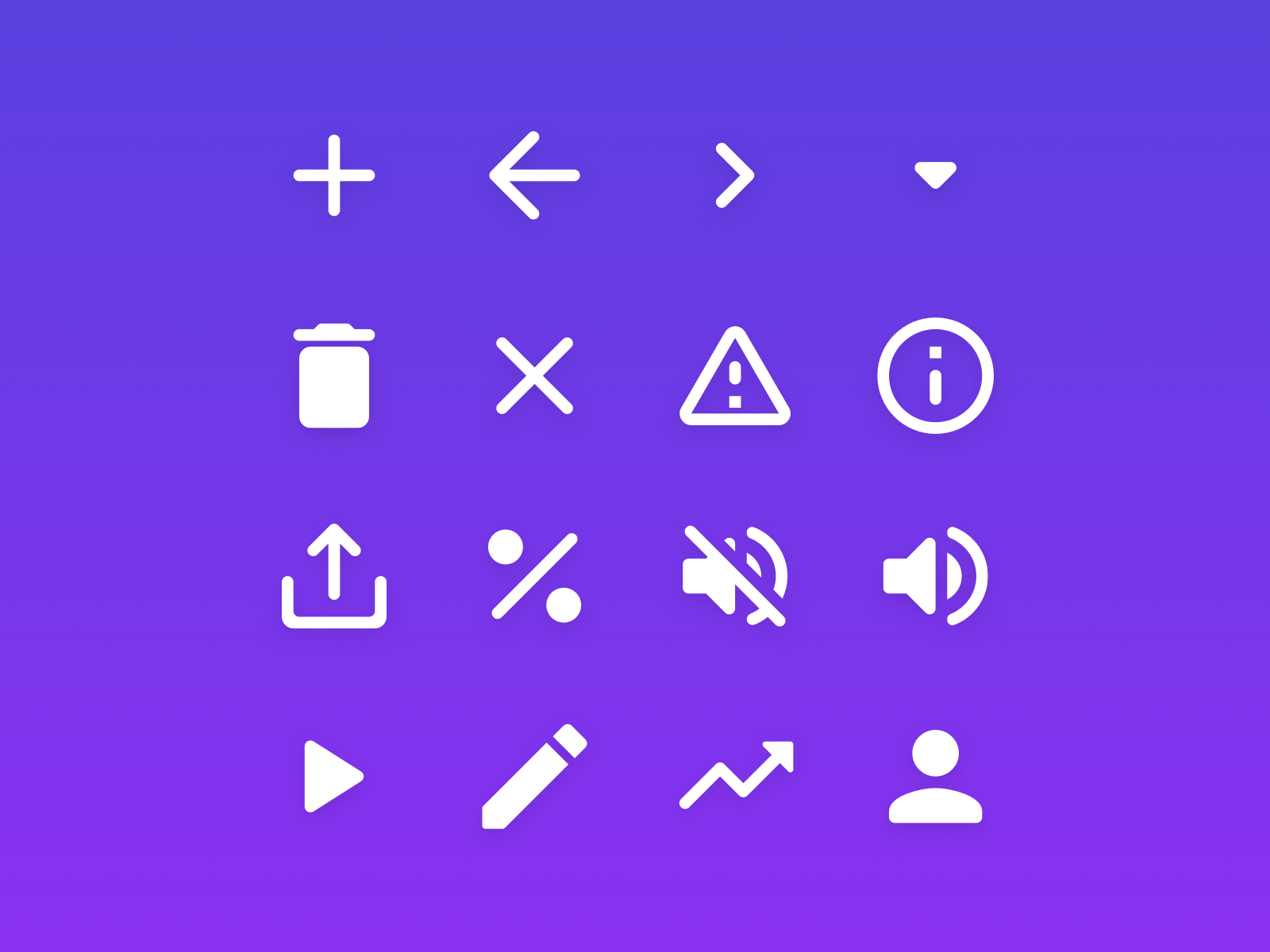 Rounded System Icons